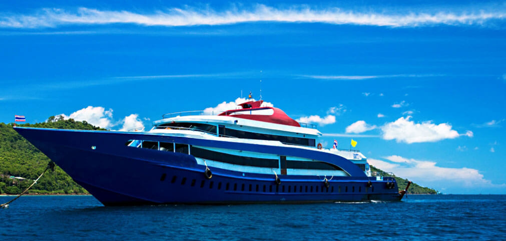 Phi Phi Ferry office in Phuket - booking ferry tickets online