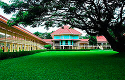 Royal Palace in Hua Hin Thailand