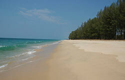 Tropical beaches in Khao Lak