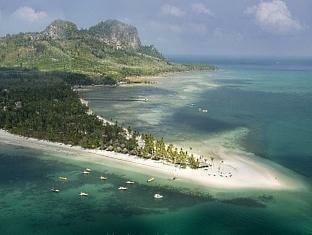 Koh Mook bird's eye view